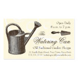 Vintage Style Florist or Garden Shop, Gardening Business Card Template