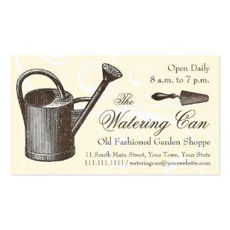 Vintage Style Florist or Garden Shop, Gardening Business Card Template
