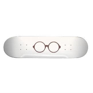 vintage style glasses skateboard deck