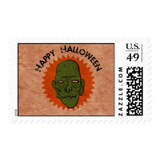 Vintage-Style Halloween Stamps
