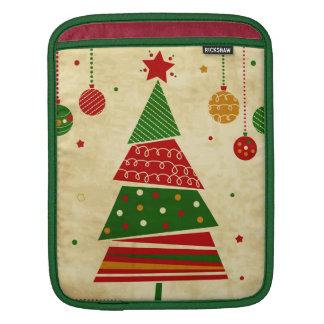 Vintage Style Holiday iPad Sleeve