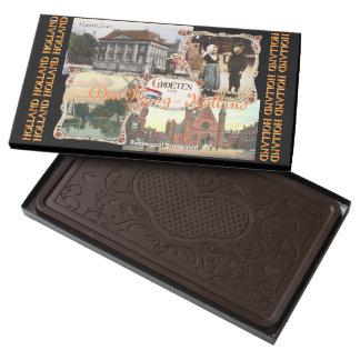Vintage style Holland Den Haag Dark Chocolate Bar