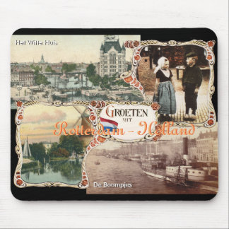 Vintage style Holland Old Rotterdam Mouse Pad