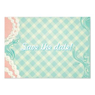 """vintage style invitation 5"""" x 7"""" invitation card"""