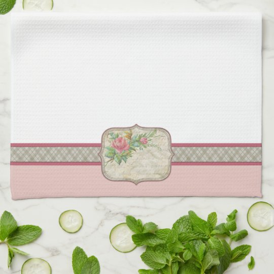 Vintage Style Kitchen Towel Zazzle