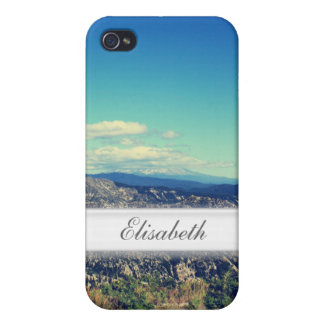 Vintage style landscape photography cover for iPhone 4