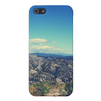 Vintage style landscape photography cover for iPhone SE/5/5s