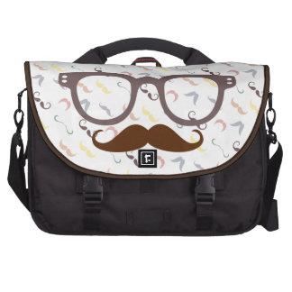 vintage style laptop commuter bag