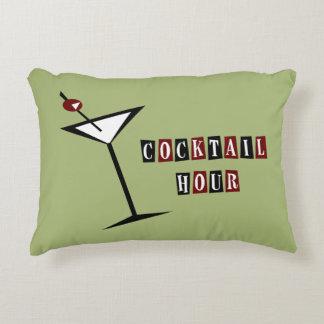 {Vintage Style} Martini Decorative Pillow