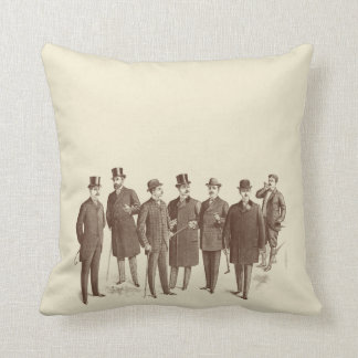 Vintage Style Masculine Sofa Mens Fashion Quirky Pillow