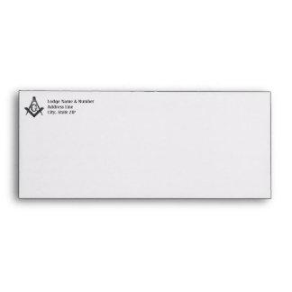 Vintage Style Masonic Lodge Envelope
