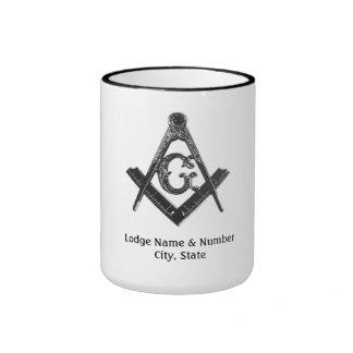 Vintage Style Masonic Lodge Mug