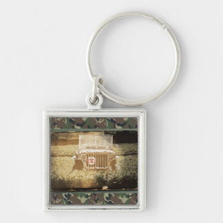 Vintage Style Military Jeep Key Chain