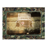 Vintage Style Military Jeep Postcards