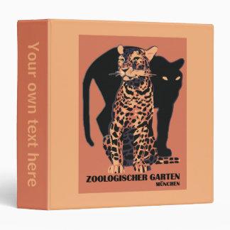 Vintage style Munich Zoo Binder