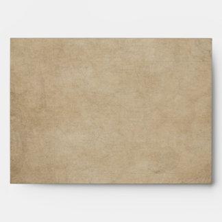 Vintage Style  Nautical Chart Envelope