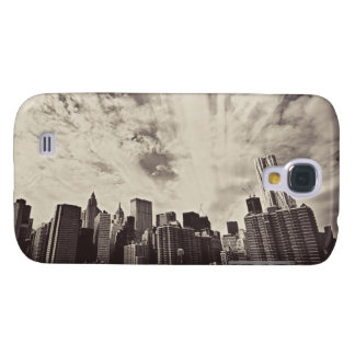 Vintage Style New York City Skyline Galaxy S4 Cover