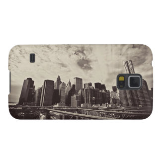 Vintage Style New York City Skyline Galaxy S5 Cover