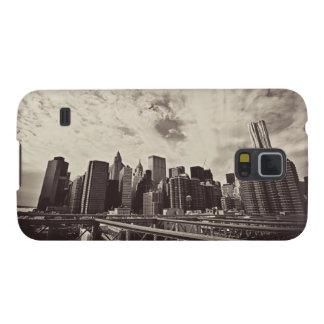 Vintage Style New York City Skyline Galaxy S5 Cover