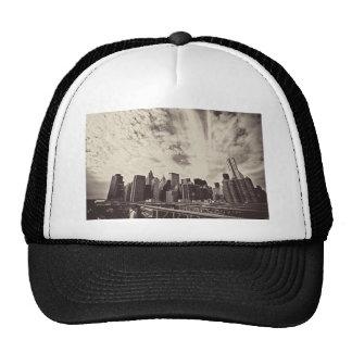 Vintage Style New York City Skyline Hat