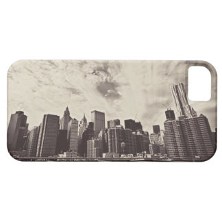 Vintage Style New York City Skyline iPhone SE/5/5s Case
