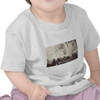 Vintage Style New York City Skyline T Shirt