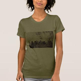 Vintage Style New York City Skyline Tee Shirt