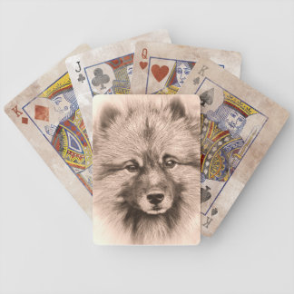 Vintage style premium playing cards. bicycle playing cards