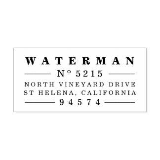 Vintage Style Return Address Stamp