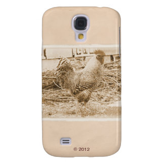 Vintage Style Rooster Photograph Samsung S4 Case