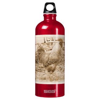 Vintage Style Rooster Photograph SIGG Traveler 1.0L Water Bottle