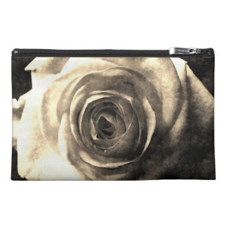Vintage style rose 2 travel accessory bag