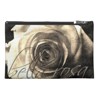 Vintage style rose travel accessories bags