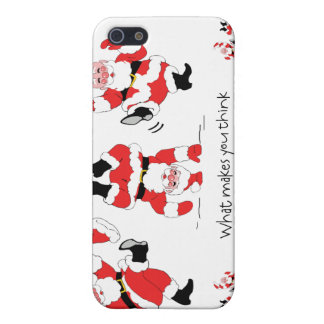 Vintage Style Santa Claus Excited About Christmas Case For iPhone 5