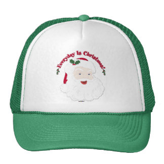 Vintage Style Santa Everyday Is Christmas! Trucker Hat