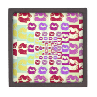 Vintage Style Sassy Lips Gift Box