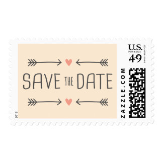 Vintage Style Save the Date Design Stamps