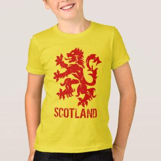Vintage Style Scottish Lion Rampant Emblem T-Shirt