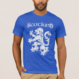 Vintage Style Scottish Lion Rampant T-Shirt