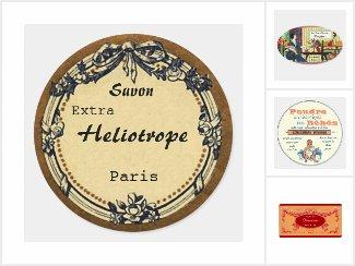Vintage Style Soap Labels
