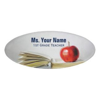 Vintage Style Teacher Name Tag