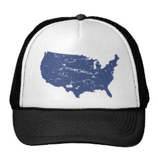 Vintage style USA Trucker Hat