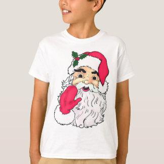 Vintage style Waving Santa Claus T-Shirt