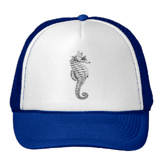 Vintage Style with seahorses. Gorros