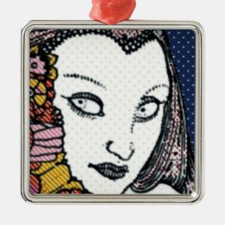 Vintage Style Woman Ornaments