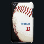 "Vintage styled baseball ball case<br><div class=""desc"">Vintage styled baseball ball case with customizable areas for your name and either your own player number,  or your favorite player number,  fill it in or leave blank.</div>"