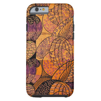 Vintage Stylized Daisies iPhone 6 Case