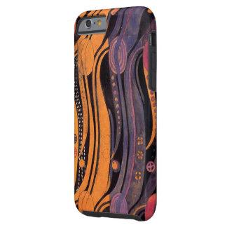 Vintage Stylized Tulips Case-Mate Tough iPhone 6 Case