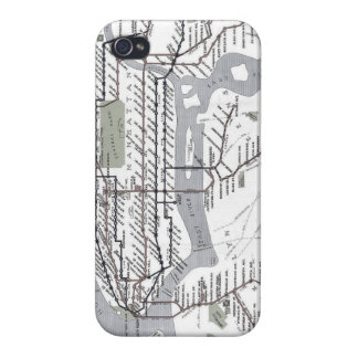 Vintage Subway Cover For iPhone 4