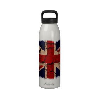 Vintage sucio Reino Unido Botellas De Beber